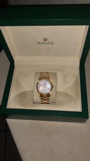 Rolex oro amarillo original
