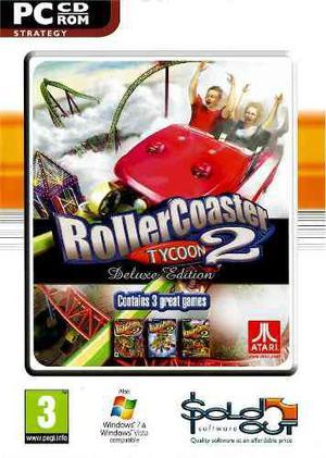Roller Coaster Tycoon 2 Deluxe Juego Para Pc Vv4