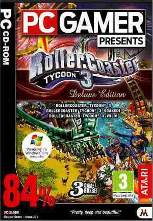 Roller Coaster Tycoon 3 Deluxe Edition (juego Para Pc) Maa