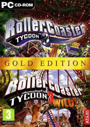Roller Coaster Tycoon 3 Gold Juego Para Pc Vv4
