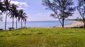 Terreno frente al mar junto a playa boca Andrea Veracruz