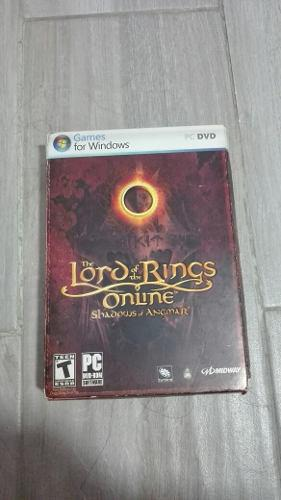 The Lord Of The Rings Online Shadows Of Angmar Juego Para Pc