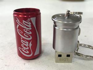 Usb Figuras 16 Gb Cocacola Coca Cola Lata Metal