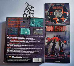 Venta Garage Juego Para Pc Iron Assault Brujostore