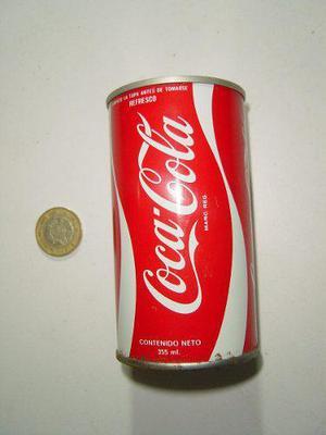 Vintage Lata Vacía De Coca Cola