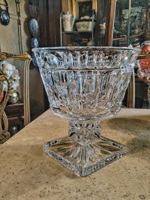 centro de mesa en cristal