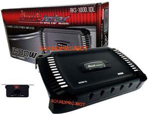 Amplificador Clase D, 2000 Watts Con Control Remoto De Grave