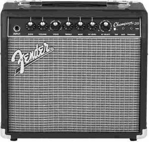 Amplificador Combo Para Guitarra Fender Champion 20 Watts