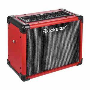 Amplificador Combo Rojo P/ Guitarra Blackstar Id:core 10 V2