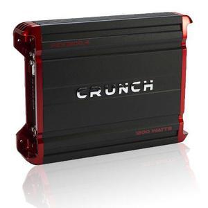 Amplificador Crunch Pzx1200.4 P Medios 4 Ch 1200w Clase A/b