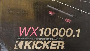 Amplificador Kicker Warhorse 10000.1