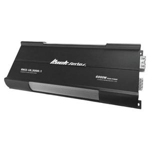 Amplificador Rock Series Rks-ul3000.1 6000 Watts Spl + 12msi