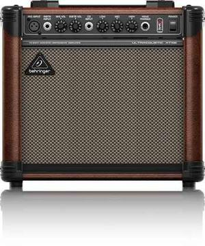At108 Behringer Amplificador P/guitarra Electroacustica 12ms