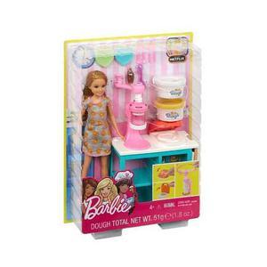 Barbie C&b Stacie Estacion De Desayuno Mattel Frh74