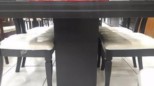 COMEDOR de 6 sillas Bellísimo Modelo