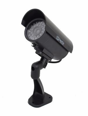 Camara De Vigilancia Simulada Con Luz Led Dummy Tipo Cctv