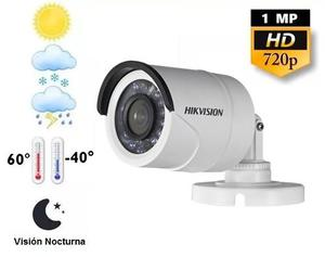 Camara Seguridad Hikvision Cctv Turbohd 720p 3.6mm Blanca