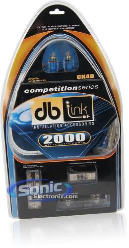 Ck4dz Kit Cableado Premium Ultra Flexible Hasta 2000 Watts!!