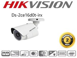 Cámara Hikvision Turbohd p, 2.8 Mm Ds-2ce16d0t-irx