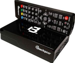 Decodificador De Tv Hdmi Usb Blackpcs E020plast-bl Coaxial