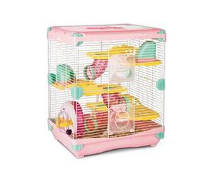 Jaula Hamster Todos Los Accesorios 36 X 27 X 42.5 Cm