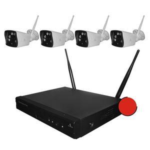 Kit Camaras Seguridad Inalambricas Cctv Ip Wifi p 2 Mp M