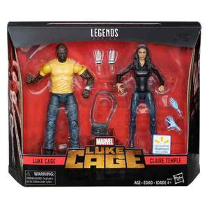 Marvel Legends 2 Pack Luke Cage & Claire Temple 2018
