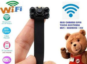 Mini Camara Espia Wifi Vision Nocturna Hd Android E Iphone