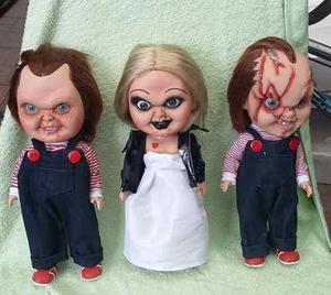 Muñecos Chucky O Tiffany 31 Cms Pvc Nacionales Precio X Pza