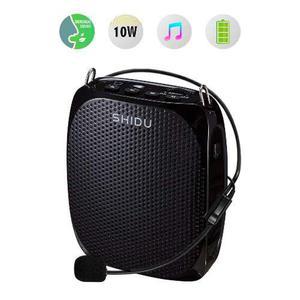 Portátil Amplificador De Voz Shidu 10w Wired Personal Con