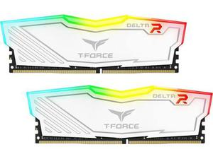 Ram Team T-force Delta Rgb Ddr4 16gb 2x8gb mhz Blanco