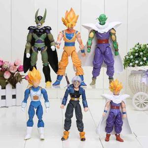 Set De 6 Figuras De Dragon Ball Z, Articuladas, Envío