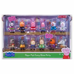 Set Peppa Pig 12 Figuras Original Nuevo
