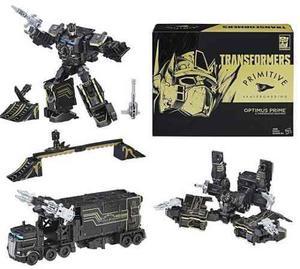Transformers Optimus Prime Primitive Skateboarding Hasbro