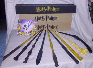 Varita De Harry Potter, Núcleo De Metal Y Estuche Con