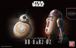 Bandai Star Wars Pack Bb8 & R2-d2 Escala 1/12