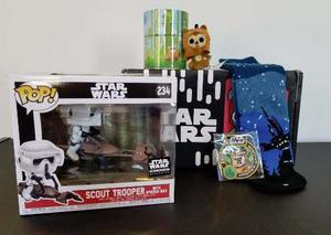 Funko Pop Star Wars Smugglers Bounty Endor Scout Trooper