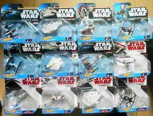 Hot Wheels Star Wars Starships Varios Modelos