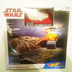 Hot Wheels Starships Star Wars Dead Star Attack Envio Gratis