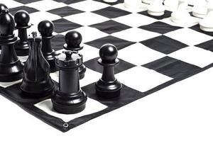 Juego De Ajedrez Gigante Rey De 16 Pulg Mega Chess
