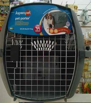 Kennel Transportador Pet Taxi Jaula 65x42x42 Gde Perro