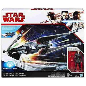 Oferta Nave Star Wars Tie Silencer + Kylo Ren Force Link *