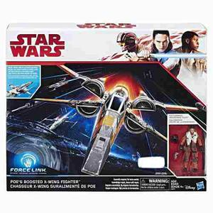Oferta Nave Star Wars X Wing Fighter Boosted Poe Force Link