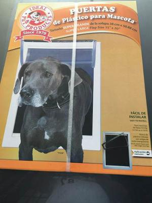 Puerta Plastico Ideal Pet Extra Grande Para Perro O Gato
