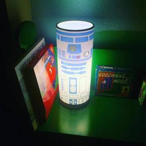 Star Wars R2-d2 Lampara De Escritorio 30 Cm Nueva No Bb-8