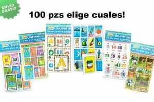30 Loterías Didácticas, Elige Los Modelos! ¡envío