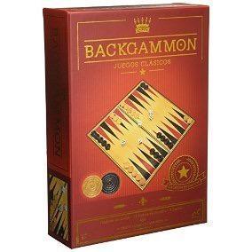 Backgammon Clásico Novelty Juego Mesa Casino Caja Cartón