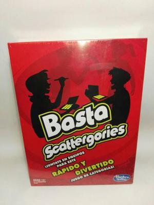 Basta. Juego De Mesa Hasbro. Juego Basta Scattergories