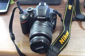 Camara Nikon D reflex digital