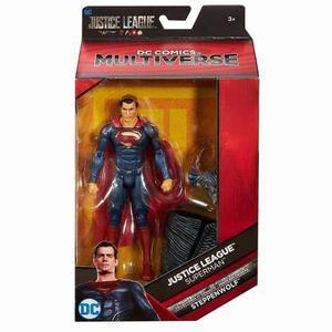 Dc Comics Multiverse Superman Liga Justicia Baf Steppenwolf